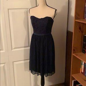 Size 8 Navy Blue bridesmaid dress